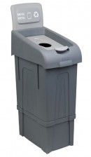 FANTOM PROFESSIONAL METAL WASTE BIN-PROCYCLE 12