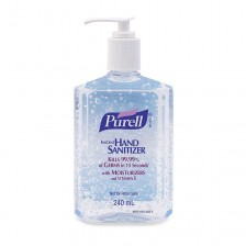 Purell Advanced Hand Sanitizer Refreshing Gel 240 ML (ITEM 9652-12)