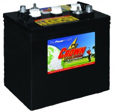 Deep Cycle Battery CR-235 : 6 Volt, 235 AH Part No.D06235