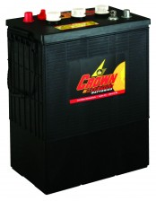 Deep Cycle Battery CR-330 : 6 Volt, 325 AH