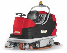 Ride On - Sweeper & Scrubber COMBI Machine - Made in Italy
