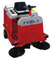 Ride On Industrial Sweeper Fuel Operated PERLA S70
